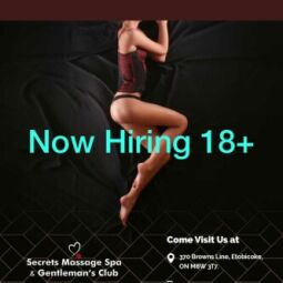 Hiring at luxury busy spa